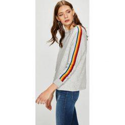 Noisy May - Bluza. Szare bluzy rozpinane damskie Noisy May, l, z bawełny, bez kaptura. W wyprzedaży za 99,90 zł.