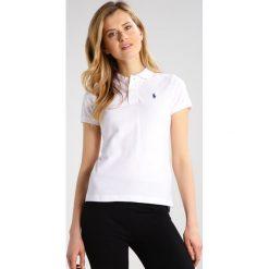Bluzki damskie: Polo Ralph Lauren SKINNY FIT Koszulka polo white