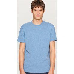 T-shirty męskie: T-shirt basic – Niebieski