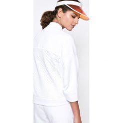 Adidas Performance - Bluza. Szare bluzy sportowe damskie adidas Performance, l, z bawełny, bez kaptura. W wyprzedaży za 379,90 zł.