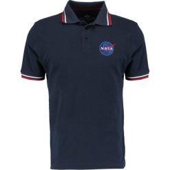 Koszulki polo: Alpha Industries NASA Koszulka polo repl blue