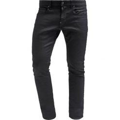 GStar REVEND SUPER SLIM Jeans Skinny Fit black pintt stretch denim. Niebieskie jeansy męskie regular G-Star, z bawełny. Za 459,00 zł.