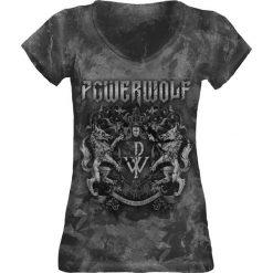 Bluzki asymetryczne: Powerwolf Metal Is Religion - Crest Koszulka damska czarny