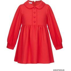 Sukienka Zoe Red. Czerwone sukienki dziewczęce marki Pakamera. Za 160,00 zł.