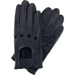 Rękawiczki męskie 46-6L-381-GC. Niebieskie rękawiczki męskie marki Wittchen. Za 99,00 zł.