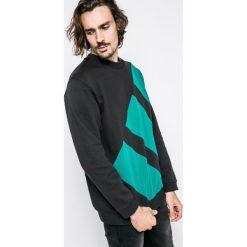 Adidas Originals - Bluza Eqt Block Crew. Szare bejsbolówki męskie adidas Originals, l, z bawełny, bez kaptura. W wyprzedaży za 259,90 zł.