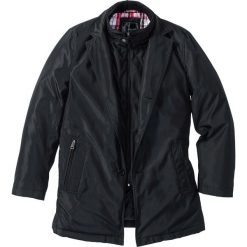 Płaszcze męskie: Krótki płaszcz zimowy bonprix czarny