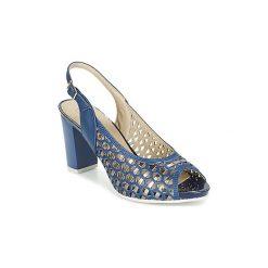 Sandały Pitillos  TARSE. Niebieskie rzymianki damskie Pitillos. Za 351,20 zł.