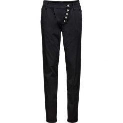 """Spodnie chino Slim Fit bonprix czarny """"used"""". Niebieskie chinosy damskie marki House, z jeansu. Za 89,99 zł."""
