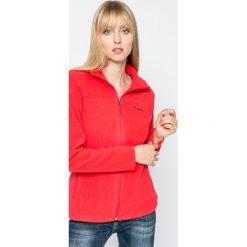 Columbia - Bluza Fast Trek II. Czarne bluzy sportowe damskie marki Cardio Bunny, s, z nadrukiem, z bawełny, bez kaptura. W wyprzedaży za 129,90 zł.