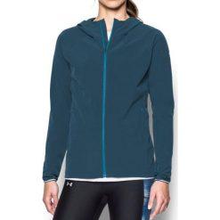 Bluzy sportowe damskie: Under Armour Bluza damska Outrun The Storm Jacket niebieska r. M (1304539-918)