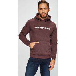 G-Star Raw - Bluza. Brązowe bluzy męskie rozpinane marki SOLOGNAC, m, z elastanu. Za 399,90 zł.
