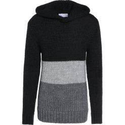 Holzweiler ASSERTIVE  Sweter black/grey. Niebieskie swetry klasyczne męskie marki Tiffosi. W wyprzedaży za 807,95 zł.