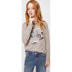 Bluzki dziewczęce bawełniane: Mango Kids - Bluzka dziecięca 110-164 cm