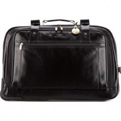 Torba podróżna 21-3-164-1. Czarne torby podróżne Wittchen, w paski, duże. Za 2899,00 zł.