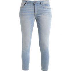 Rurki damskie: H.I.S MONROE Jeansy Slim Fit premium ultra light blue wash