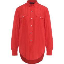 Polo Ralph Lauren BROADCLOTH Koszula tomato. Czerwone koszulki polo damskie Polo Ralph Lauren, m, z jedwabiu, polo. W wyprzedaży za 419,60 zł.