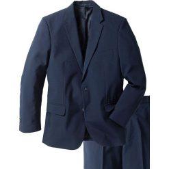 Garnitur (2 części) bonprix ciemnoniebieski. Niebieskie garnitury bonprix. Za 269,99 zł.