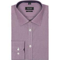Koszule męskie na spinki: koszula bexley 1905 długi rękaw slim fit fiolet