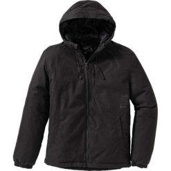 Kurtka przejściowa Regular Fit bonprix czarny. Czarne kurtki męskie przejściowe marki bonprix. Za 189,99 zł.