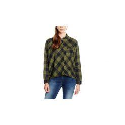 Koszule Wrangler  ®  L/S 1pckt Blouse Clover Green 5176C8FR. Szare koszule damskie marki Wrangler, na co dzień, m, z nadrukiem, casualowe, z okrągłym kołnierzem, mini, proste. Za 99,00 zł.