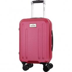 Walizka w kolorze fuksji - 32 l. Czerwone walizki Bagstone & Travel One, z materiału. W wyprzedaży za 179,95 zł.