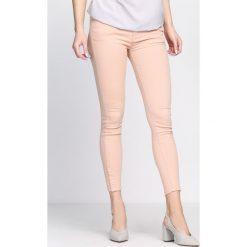 Spodnie damskie: Różowe Spodnie Assure