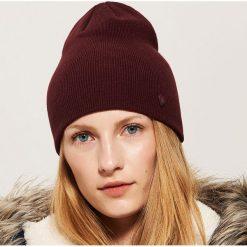 Czapka beanie - Bordowy. Czerwone czapki zimowe damskie House. Za 19,99 zł.