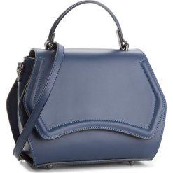 Torebka CREOLE - K10491  Granat. Niebieskie torebki klasyczne damskie Creole, ze skóry, duże. W wyprzedaży za 219,00 zł.
