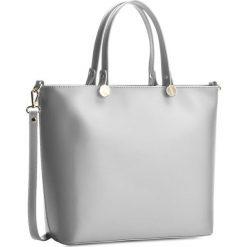 Torebka CREOLE - K10226 Jasny Szary. Szare torebki klasyczne damskie Creole, ze skóry, duże. W wyprzedaży za 249,00 zł.