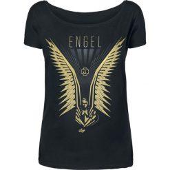 Bluzki asymetryczne: Rammstein Wings Koszulka damska czarny