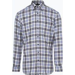 Andrew James - Koszula męska – Two Ply, niebieski. Niebieskie koszule męskie na spinki Andrew James, l, z tkaniny, z podwójnym kołnierzykiem. Za 179,95 zł.