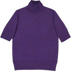 Sweter z golfem, 100% kaszmiru. Szare golfy damskie marki La Redoute Collections, m, z bawełny, z kapturem. Za 419,96 zł.