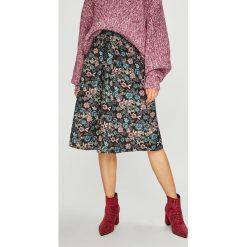 Medicine - Spódnica Vintage Revival. Szare spódniczki rozkloszowane marki MEDICINE, l, z bawełny, vintage, midi. Za 119,90 zł.