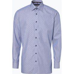 Finshley & Harding - Koszula męska, niebieski. Czarne koszule męskie marki Finshley & Harding, w kratkę. Za 89,95 zł.