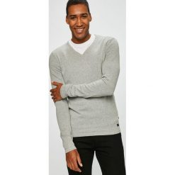 Produkt by Jack & Jones - Sweter. Szare swetry klasyczne męskie PRODUKT by Jack & Jones, l, z bawełny. W wyprzedaży za 79,90 zł.