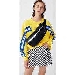 Bluza sportowa z pasami. Żółte bluzy rozpinane damskie Pull&Bear. Za 69,90 zł.