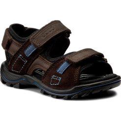Sandały ECCO - Urban Safari Kids 73216250447 Coffee/Mocha/Black. Brązowe sandały męskie skórzane marki ecco. Za 299,90 zł.