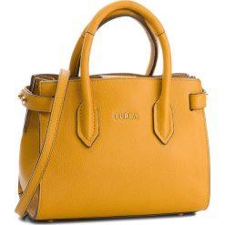 Torebka FURLA - Pin 978757 B BQM3 OAS Ginestra e. Żółte torebki klasyczne damskie Furla, ze skóry. Za 1290,00 zł.