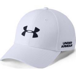 Czapki z daszkiem męskie: Under Armour Czapka męska Men's Golf Headline 2.0 Cap biała r. L/XL (1305018-100)