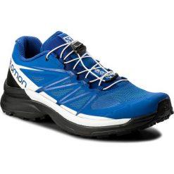 Buty sportowe męskie: Buty SALOMON – Wings Pro 3 401469 27 G0 Nautical Blue/Black/White