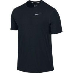 Nike Koszulka męska Dri-Fit Contour SS czarna r. M (683517 010). Czarne koszulki sportowe męskie Nike, m. Za 177,00 zł.