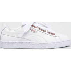 Puma - Buty Basket Heart Leather. Czerwone buty sportowe damskie marki Puma, xl, z materiału. W wyprzedaży za 349,90 zł.
