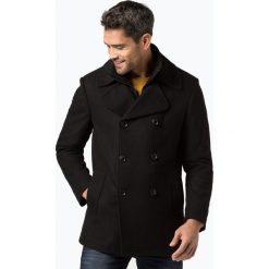 Finshley & Harding - Kurtka męska, czarny. Czarne kurtki męskie pikowane marki Finshley & Harding, w kratkę. Za 499,95 zł.