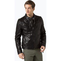 Gipsy - Męska kurtka skórzana – Chester, czarny. Czarne kurtki męskie bomber Gipsy, m, ze skóry, eleganckie. Za 999,95 zł.
