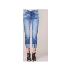 Jeansy 3/4 & 7/8 G-Star Raw  LANC 3D HIGH STRAIGHT. Czerwone jeansy damskie marki G-Star RAW, l, z bawełny. Za 433,30 zł.