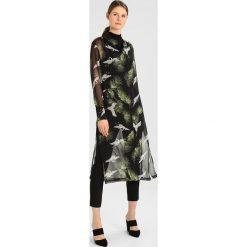 Koszule wiązane damskie: Rue de Femme LINEA LONG Koszula black