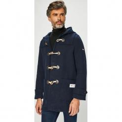 Tommy Jeans - Płaszcz. Czarne płaszcze na zamek męskie Tommy Jeans, l, z elastanu. Za 999,90 zł.