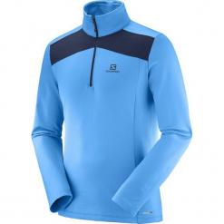 Salomon Bluza Męska Discovery Lt Hz M Hawaiian/Night Sky L. Niebieskie bluzy męskie marki Oakley, na lato, z bawełny, eleganckie. Za 225,00 zł.