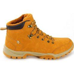Smith`s Ocieplane Zimowe Męskie BUTY za Kostkę. Pomarańczowe buty trekkingowe męskie Smith's, na zimę, z materiału, za kostkę. Za 139,00 zł.